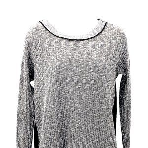 PETE Collection Marbled Knit Tunic Sweater